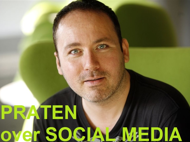 Praten over Social Media